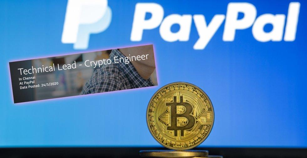 Efter kryptoryktet: Betaljätten Paypal söker två blockkedjeutvecklare