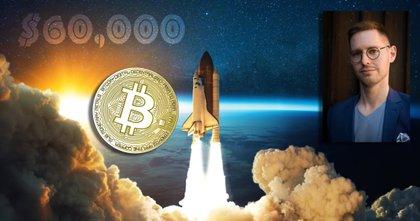 Bitcoinpriset når 60 000 dollar – för första gången sedan april