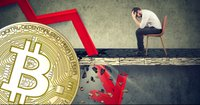 Bitcoin price continues to drop – is down nearly 18 percent this week