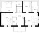 Se planritning för Villa Lövskär