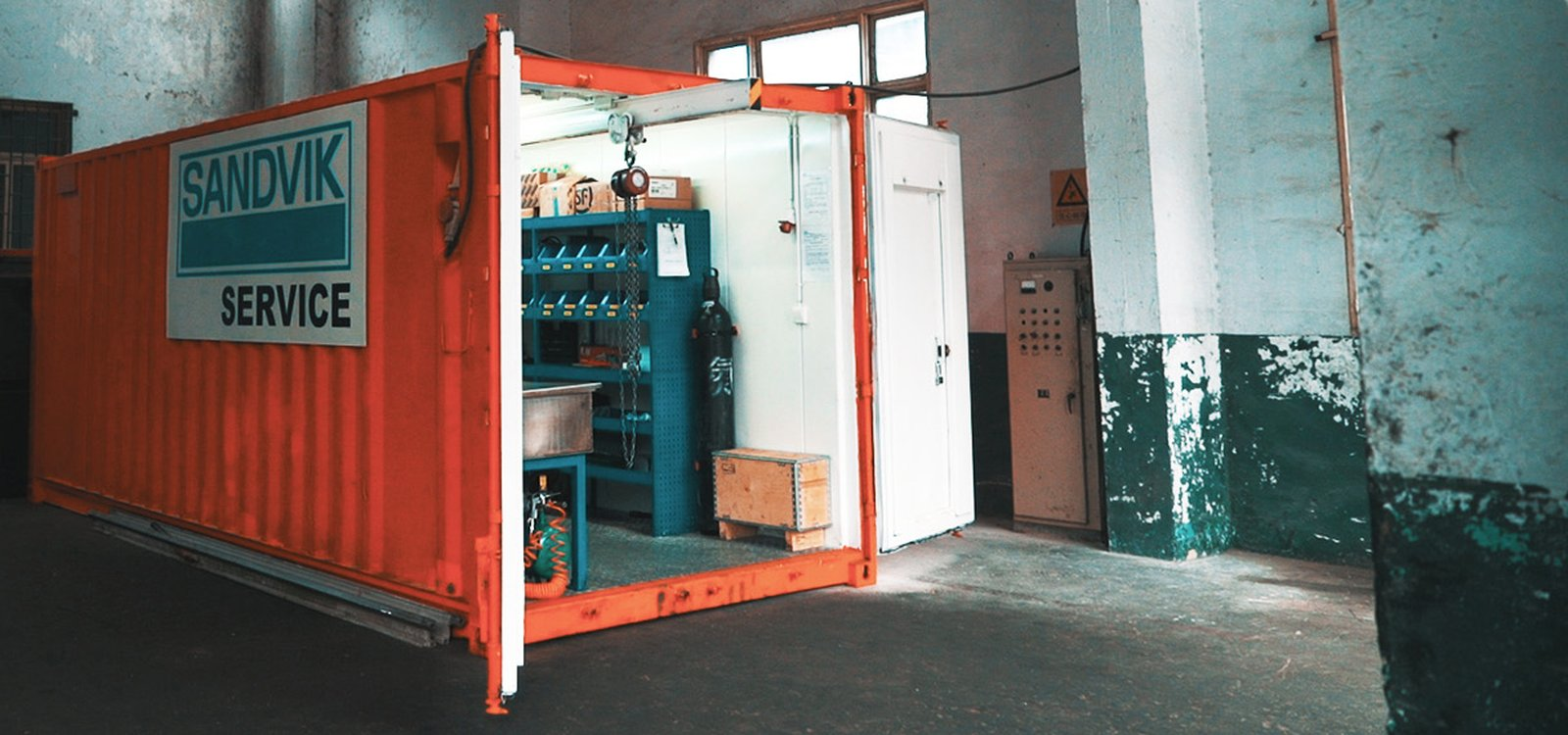<p>Despite its small size, the converted shipping container has made a big impact on operations for Kailin.</p>