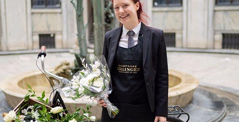 Maja Hempel har jobbat i sju år på Thörnströms Kök i Göteborg. Foto: Pressbild