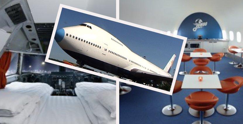 Jumbo Stay är en 747-200 Jumbo Jet som byggdes för Singapore Airlines år 1976 Foto: Jumbo Stay