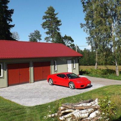 Ferrarigaraget på landet