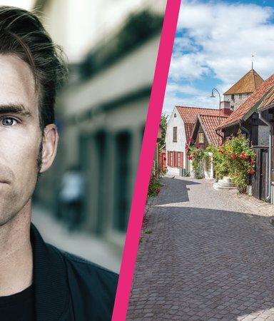 """Kristofer Ahlström: """"På Gotland pratar man om alla andra, i Stockholm pratar alla om sig själva."""""""
