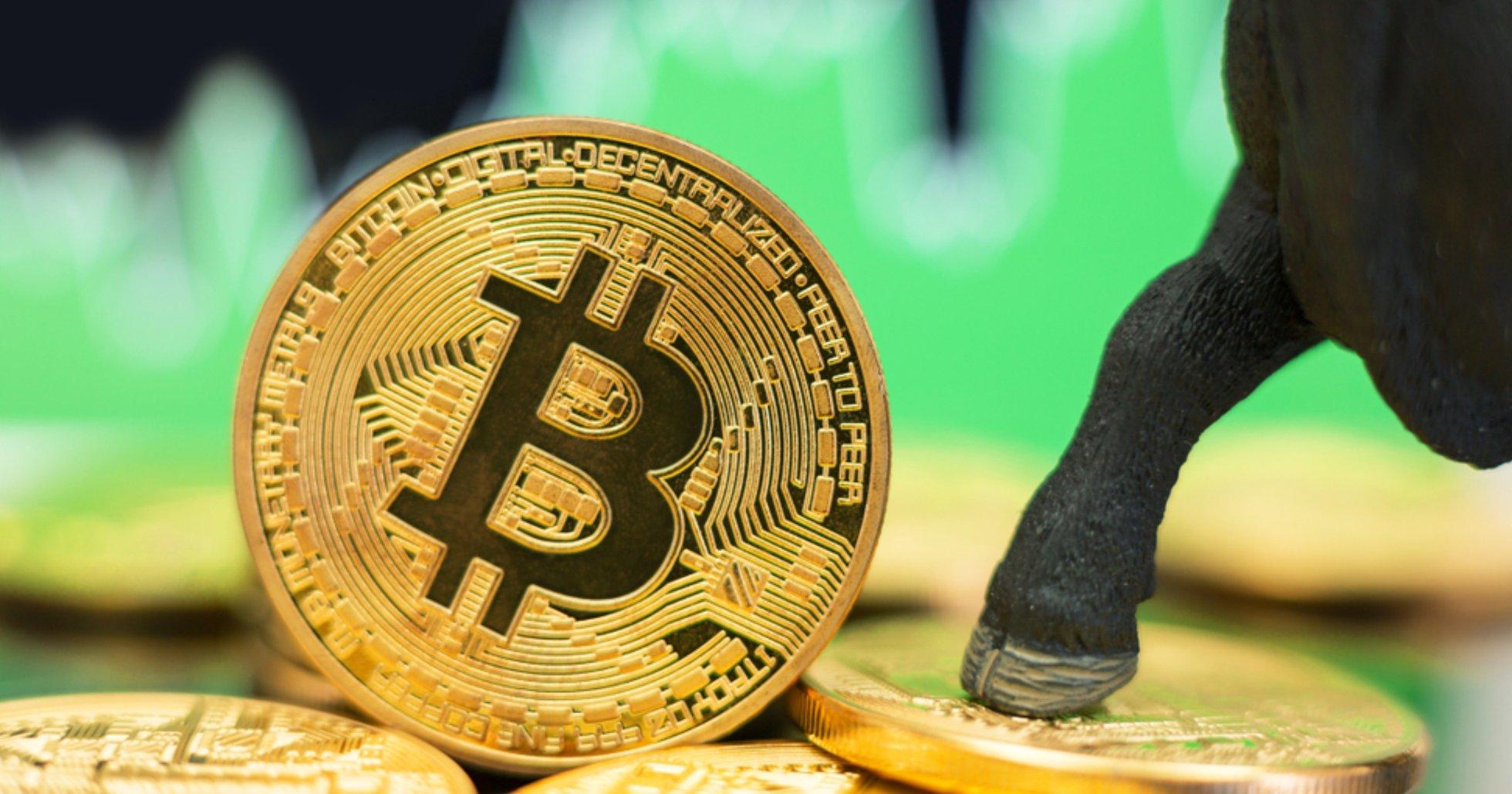 Efter snabba ökningen – bitcoinpriset når sin högsta nivå på över ett år