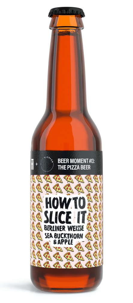 The pizza beer