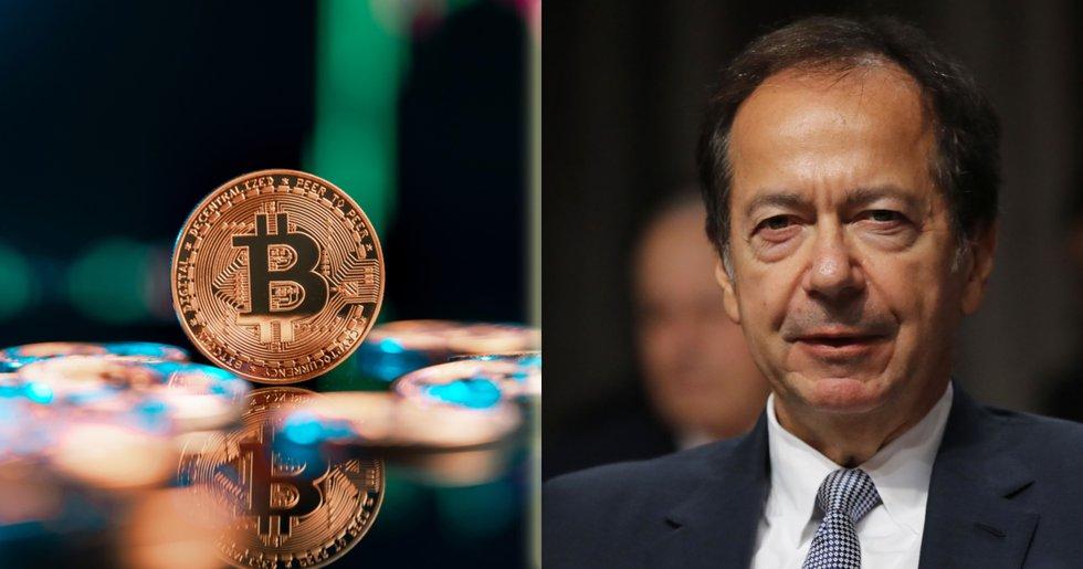 Miljardär: Kryptovalutor är en bubbla utan inneboende värde