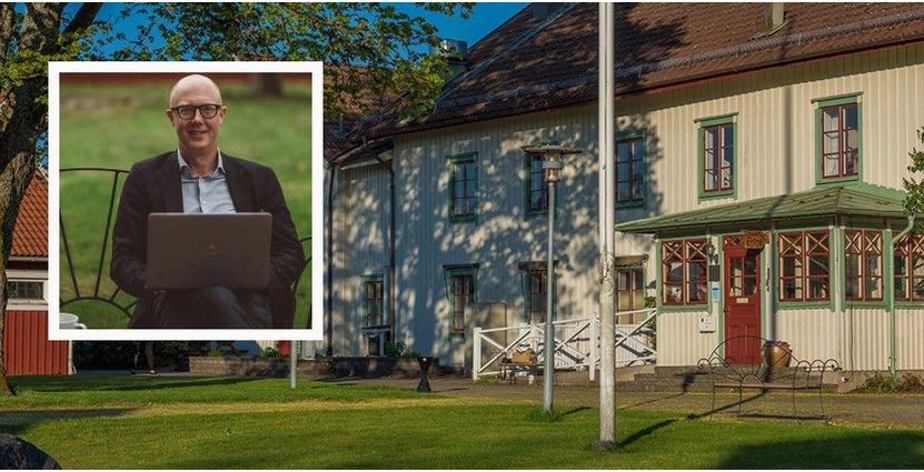 Claes Västerteg, vd för Två Skyttlar, utökar personalstyrkan inför sommaren.  FOTO: Amanda Falkman