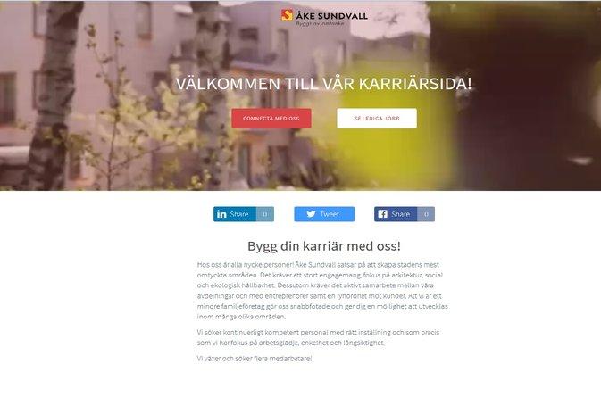 Ny Karriärsida på www.akesundvall.se