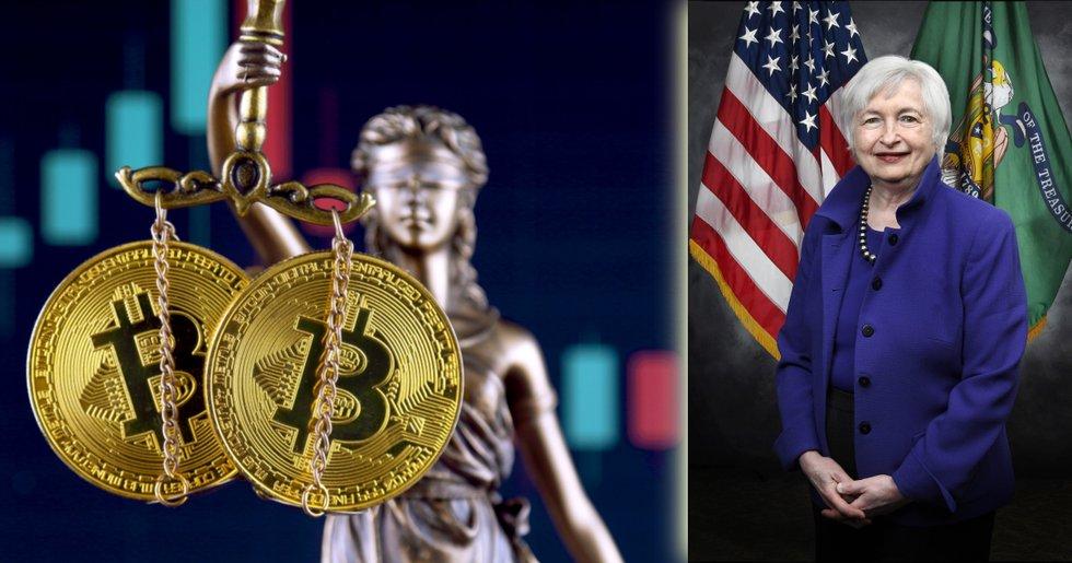Så vill USA:s finansdepartement reglera kryptomarknaden