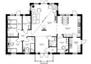 Se planritning för Villa Östanvik