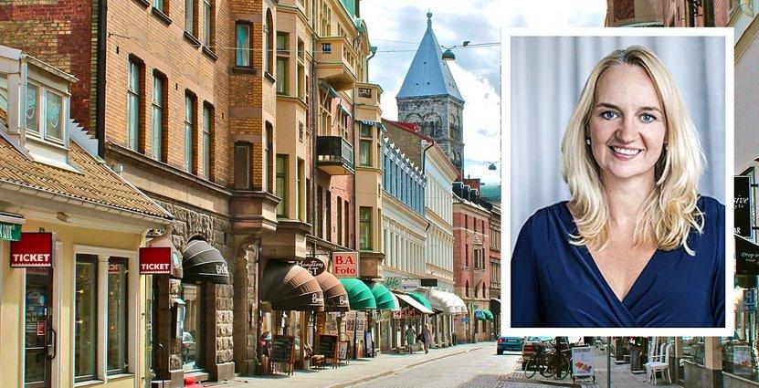 Visitas branschjurist Susanne Ytterholm.