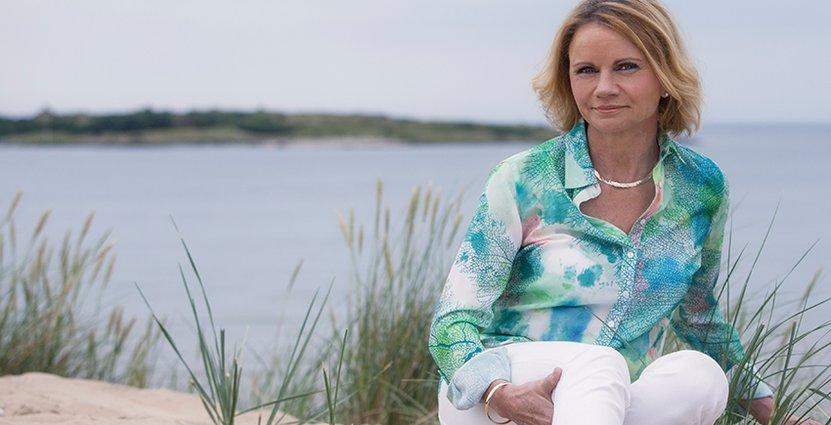 Hotel Tylösands vd Elisabeth Haglund tar inte sommarsemester.