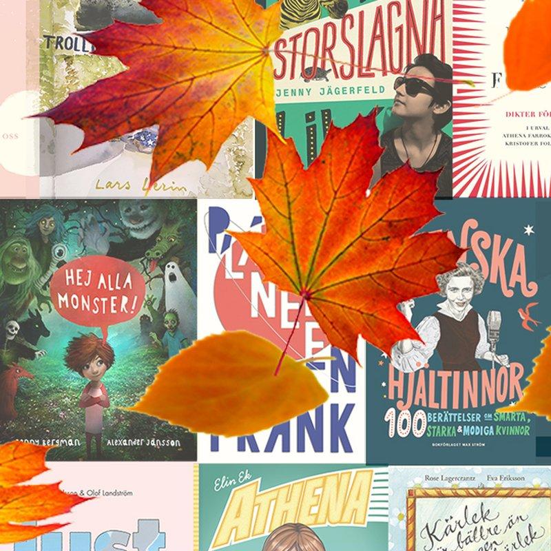 10 barn- och ungdomsböcker vi längtar efter i höst