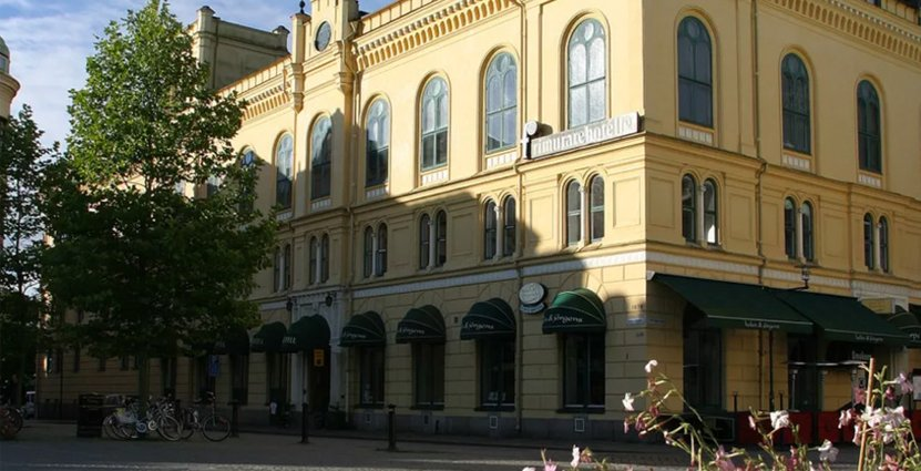 Del av nya Sure. Frimurarehotellet i Kalmar.