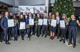 De vann SSQ Service Award 2019