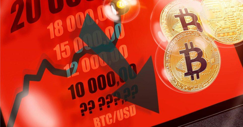 daily crypto markets keep falling bitcoin below $6,400.