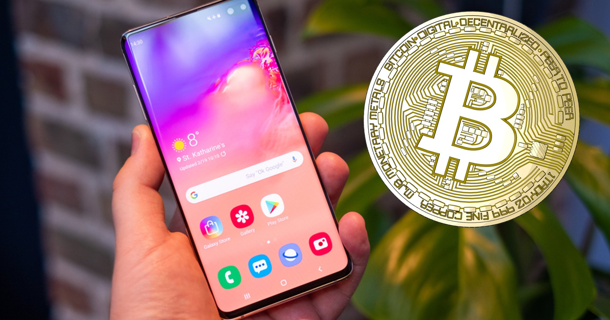 After long wait: Samsung's crypto app now supports bitcoin