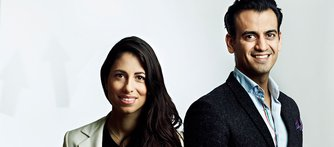 Plats 17: Emad Zand och Susanne Najafi