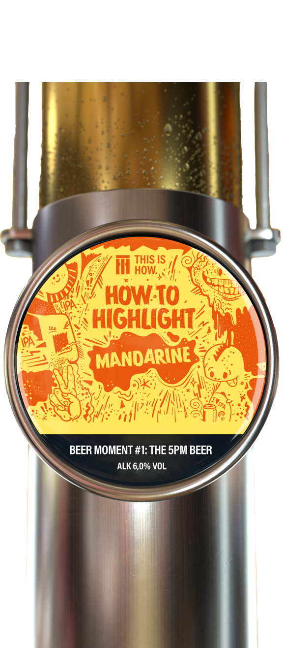 How to highlight Mandarine