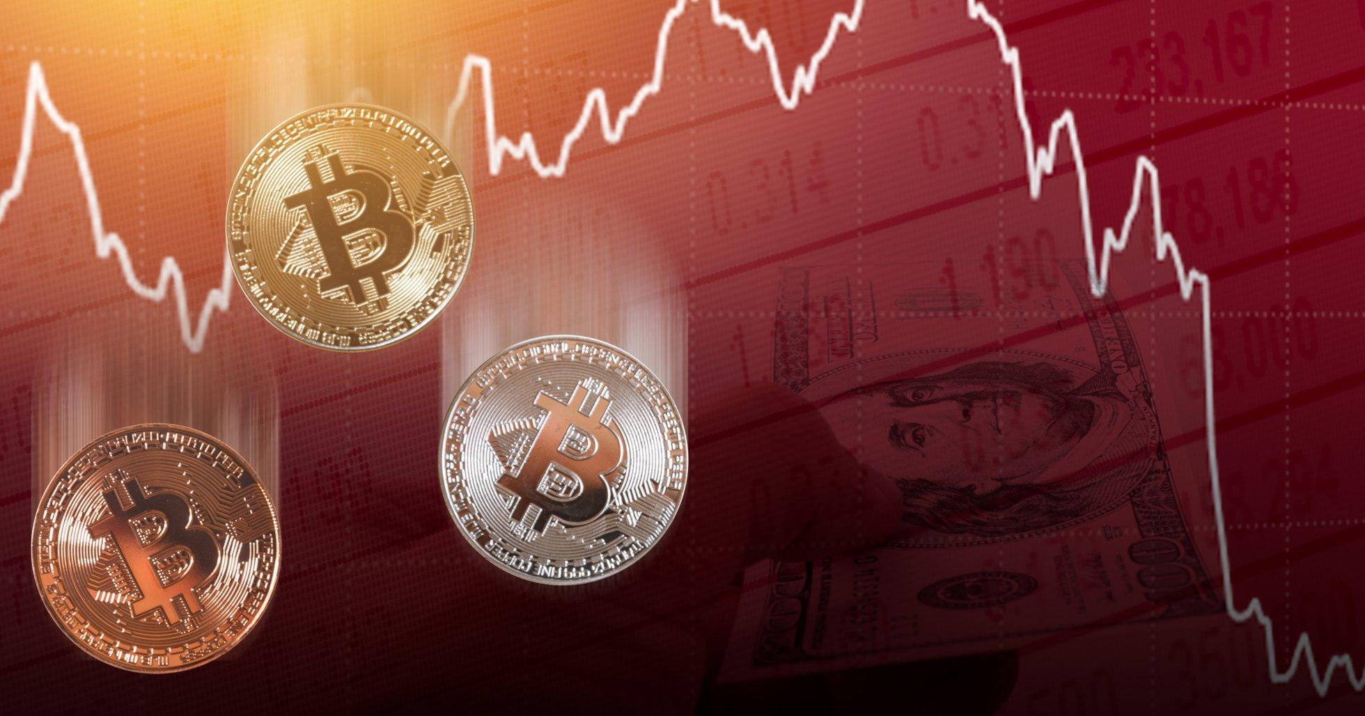 Bitcoinpriset lyckades inte nå 11 000 dollar – föll i stället 600 dollar på en kvart.