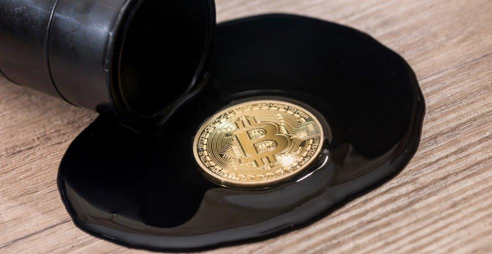 Nya siffror visar: Oljepriset långt mer volatilt än det för bitcoin