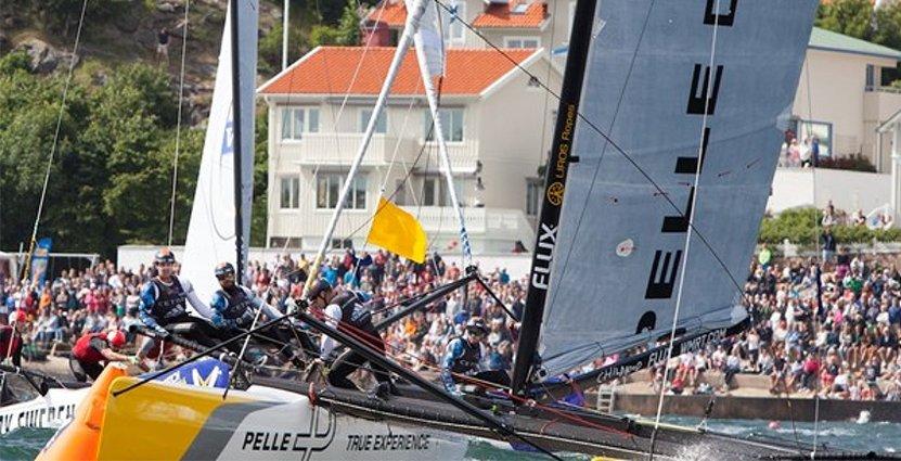Marstrands segelvatten borde exploateras genom fler internationella<br />  seglingstävlingar, tycker aktörerna bakom projektet Internationell seglararena.  Foto: Turistbyrån Marstrand