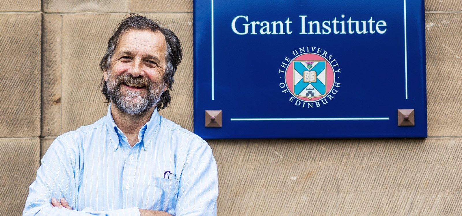 <p>Stuart Hazeldine, professor of carbon capture and storage at the University of Edinburgh.</p>