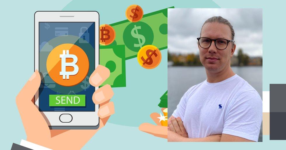 Martin Byström: Om du tycker bitcoins avgifter är för dyra skickar du för lite pengar.