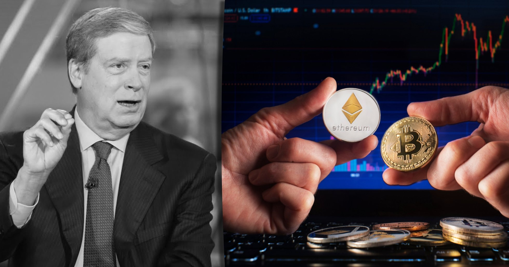 Kan ethereum gå om bitcoin? Miljardären Stanley Druckenmiller tror inte det