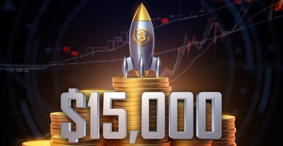 Ny undersökning visar: 42 procent tror på bitcoinpris över 15 000 dollar innan året är slut