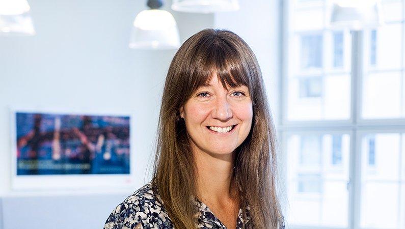 Lena Westerholm, hållbarhetschef, ABB Sverige.