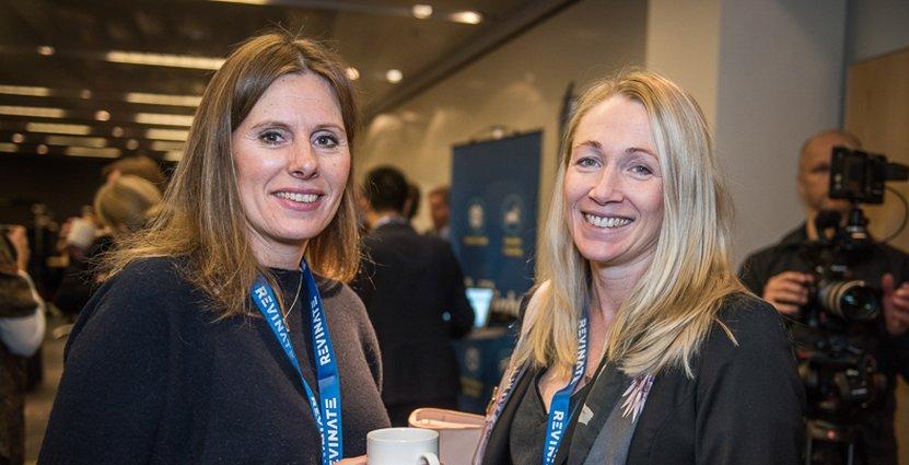 Malin Widmarc-Nilsson från Meininger Hotels flög in från Tyskland och träffade tidigare kollegan Eva Radelius Lidgård från Park Inn By Radisson Lund.