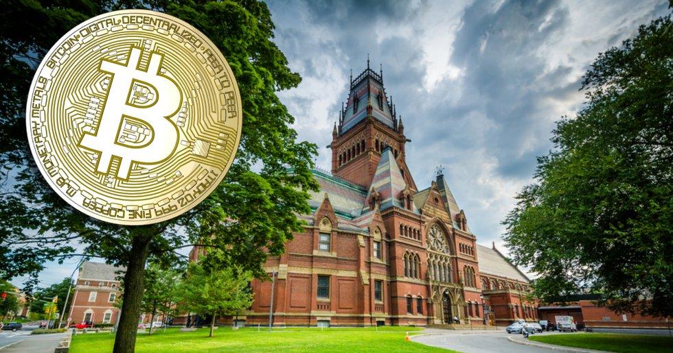 Insatta källor: Amerikanska toppuniversiteten Harvard och Yale investerar i bitcoin