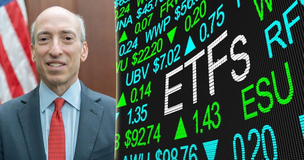 SEC-chef uttalar stöd för börshandlade bitcoinfonder