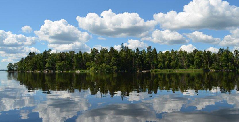 Åsnen Nationalpark som invigts idag är Sveriges 30:e. Foto: Åsnen Nationalpark