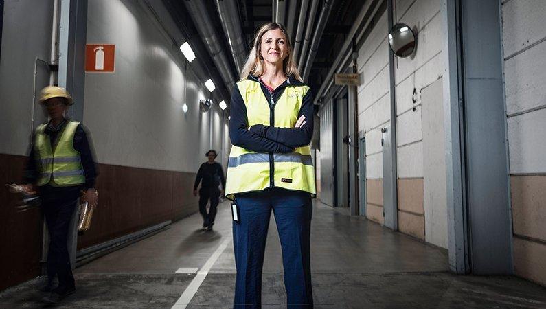 Emma Nehrenheim är professor i miljöteknik och hållbarhetschef på Northvolt.