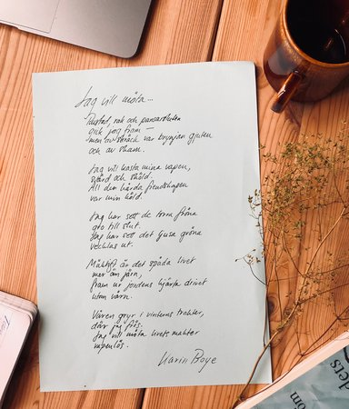 Poesi - svårt och pretentiöst eller alldeles alldeles underbart?