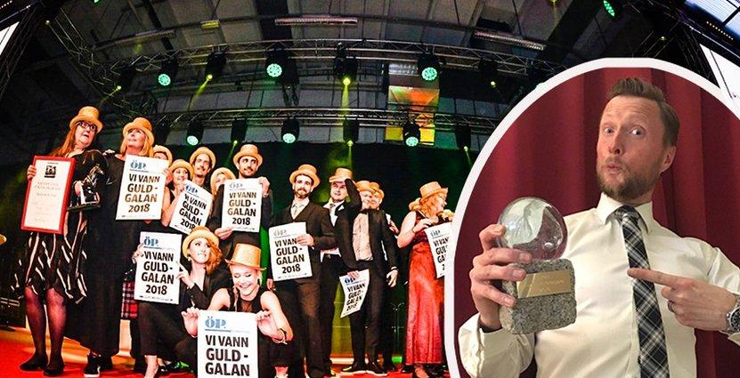 Guldgalan är en hyllning till handlingskraften<br />  och företagsamheten i Jämtland och Härjedalen. Foto: Göran Strand