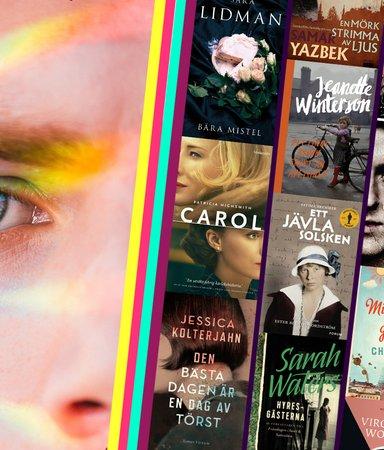 17 uppslukande böcker med HBTQ-personer i handlingen