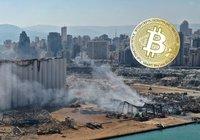 Insamling skramlar bitcoin för att ge Beirut katastrofhjälp