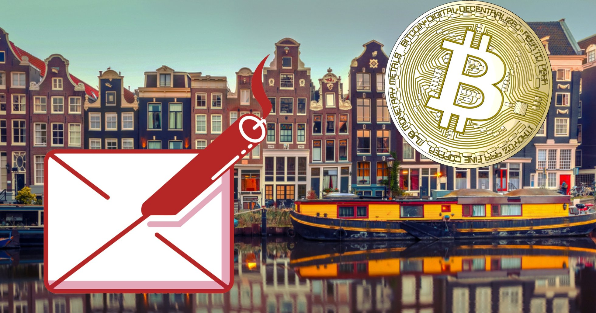Brevbombare i Nederländerna kräver lösensumma i bitcoin