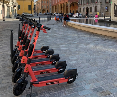 Safe scooting in Northern Italy – we've just launched in Reggio Emilia