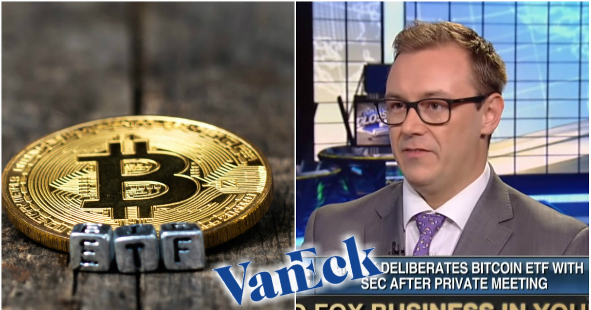 Fund manager Vaneck about their bitcoin ETF application: