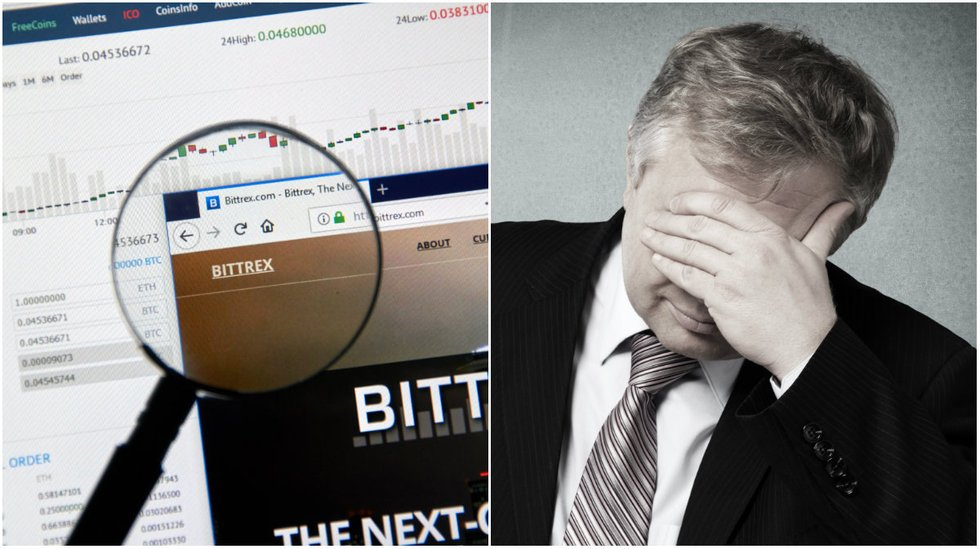 Bittrex was forced to close user registration again.