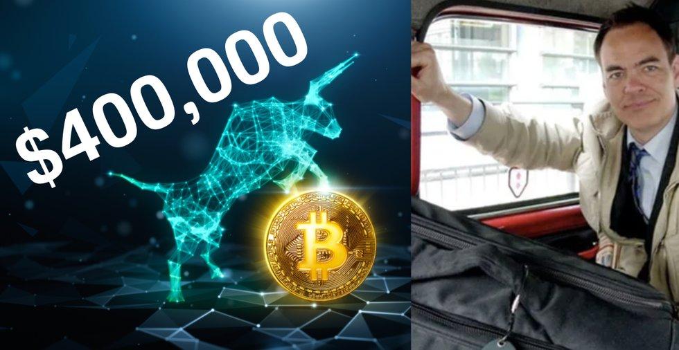Kryptoprofilen Max Keiser: Bitcoinpriset kan nå 400 000 dollar