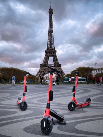 Paris 2020: Voi, in the race for micro-mobility
