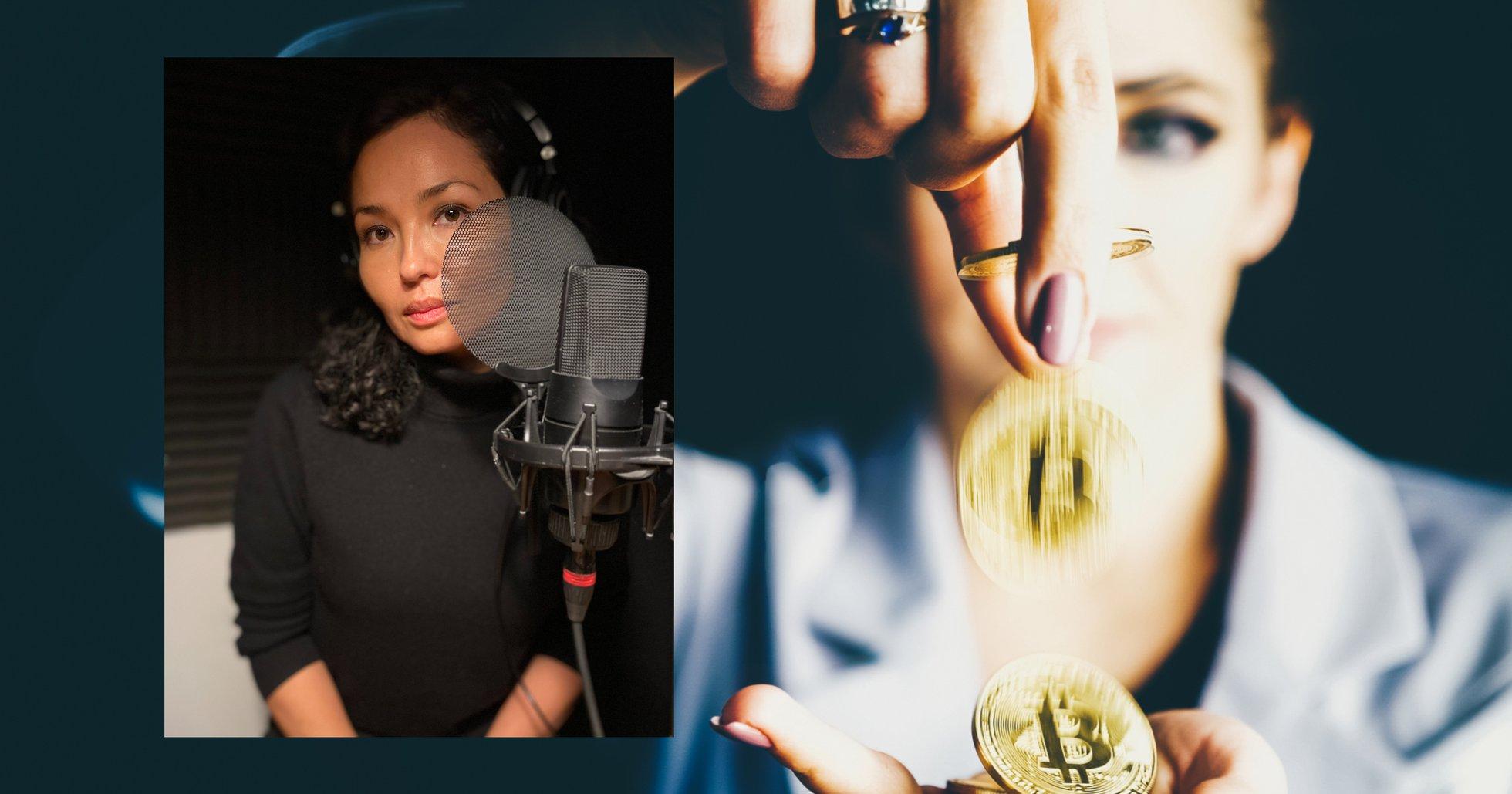 Gina Pari från Sweblocks: Därför investerar så få kvinnor i kryptovalutor.