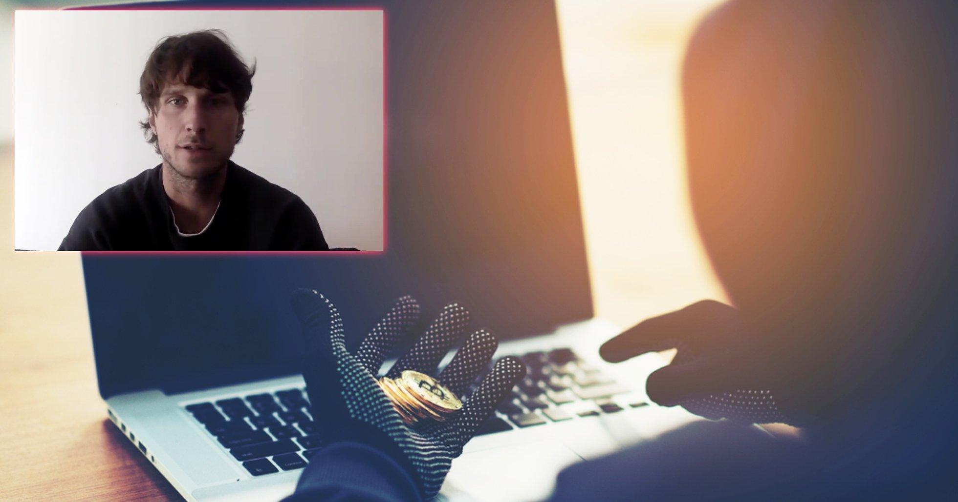 Podcaster blev bestulen på en miljon i bitcoin – nu får han hjälp av Binances vd